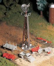 Bachmann O Scale Train Windmill W/Farm Machinery 45603