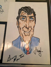 DEAN MARTIN Signed / Autograph Picture / Drawing 1970's