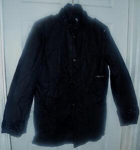 New GUESS Jet Black A996 Woman Buttons Sport Coat Jacket Sz. M L