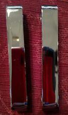 Klock Werks Chrome Tire Hugger Front Fender Mounting Blocks - 1410-0043