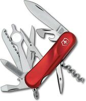 Victorinox Swiss Army Evolution 23 Pocket Knife Stainless Steel Blade Red Handle