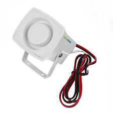 12V DC Wired 120db Alarm Siren Horn Indoor For Home Security Protection System