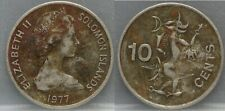 SOLOMON ISLANDS - ten 10 cents 1977
