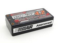 Turnigy nano-tech Shorty 4200mAh 2S 7.4 65C-130C Battery Lipo Pack Hardcase ROAR