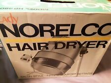 Vintage Lady Norelco Hair Dryer Model HP 4606