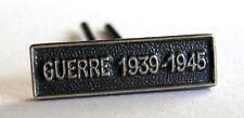 Agrafe barrette militaire  MINIATURE, GUERRE 1939-1945, 14 x 4 mm, pour rappels.