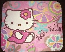 Hello Kitty Cute Pink Mousepad 8.5 X 7 Mousepad Round Corners Thin Pad