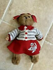 "Bearington Collection Bears Cindy Socks 12"" Collector Plush Bear"