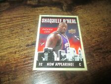 New listing 09/10 UPPER DECK SHAQUILLE O'NEAL NOW APPEARING INSERT