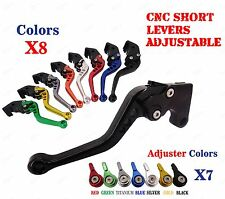 CNC Pair Short Brake Clutch Levers for Yamaha YZF-R15 2008 2009 2010 2011-2014
