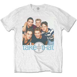 Take That Gary Barlow Robbie Williams Young Official Tee T-Shirt Mens