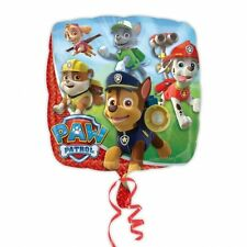 "18"" Square PAW PATROL Helium Foil BALLOON Birthday Party Decoration Supplies"