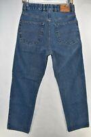Ermenegildo Zegna Straight Leg Mens Jeans Size 30 Blue Meas. 28x29.5 Made Italy