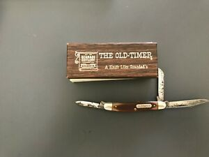 Schrade Old Timer Pocket Knife with Box 1080T USA Made