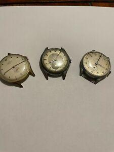 Lotto orologi vintage non funzionanti