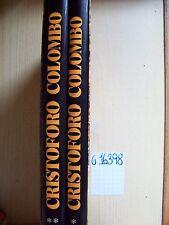 PAOLO E. TAVIANI - CRISTOFORO COLOMBO - 2 VOLUMI - DE AGOSTINI - 1980