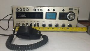 LP8014 Montgomery Ward 702 Transceiver Radio Gen702A w/ Dynamic Mic NOT TESTED
