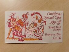 Gb 1983 booklet Christmas 10x 12.5p fx6 mint unmounted
