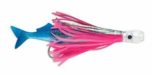 """Williamson Lures Live Swimming Ballyhoo Combo - Hot Pink Blue 5.5"""" Trolling Lure"""