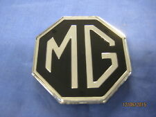 MG   NEW MGB AND MIDGET PLASTIC  OCTAGON MG BOOT  BADGE 34G252   **   OD15*