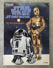 1978 STARWARS SOFT COVER BOOK - STAR WARS STORYBOOK COLOR PHOTO'S
