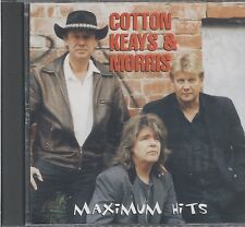 Cotton Keays & Morris - Maximum Hits CD Signed