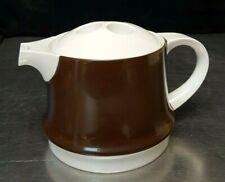 RARE 4-cup Teapot Miropa Suisse Langenthal Aristo Braun Classic Brown #339010