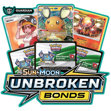 50x Sun And Moon Unbroken Bonds Pokemon TCGO PTCGO TCG Online Codes Sent Fast