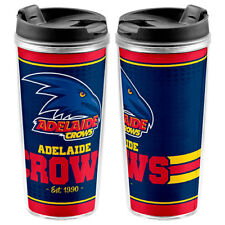 Adelaide Crows AFL TRAVEL Coffee Mug Cup Drink Work School Lunch 250ml Gift