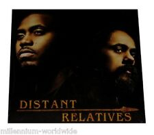 "SEALED & MINT - NAS & DAMIAN MARLEY - DISTANT RELATIVES - DOUBLE 12"" VINYL LP"