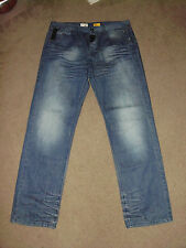 ENERGIE Men's WINDER (37) 40 x 34 Straight Italy Designer Session Jeans Sixty