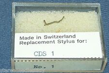 PHONOGRAPH RECORD PLAYER NEEDLE for Dual CDS-1 CDS1 Omega No 1 LP/78 78 RPM