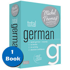 Michel Thomas Method Total German Audio Book for Beginners CD Box Set Collection