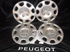"Set of Four New Genuine Peugeot 206 14"" Cuba Wheel Trim"