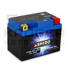 Lithium Ion Battery Shido YTX5L-BS 12V 20Wh Motocross Motorcycle Motorbike
