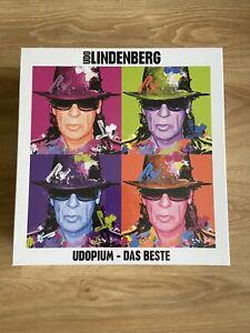 "Udo Lindenberg ""UDOPIUM - Das Beste"" Fan-Box CD NEU 2021"