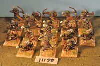 orc archers 18 metal (11190) warhammer 40k