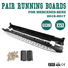 Side Step Nerf Bars Running Board For 16-Up Mercedes Benz X253 GLC300 GLC43 AMG