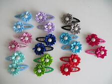 Girl Hairclip Mini sunflower Flower hair clip children hairpins DIY baby girl