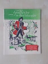VINTAGE 1960's BOOKLET GUIDE - GULLIVER IN THE COTSWOLDS - BOURTON ON THE WATER