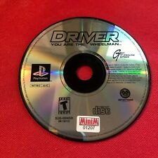 Driver (Sony PlayStation 1, 1999) (Game Only) (GD)