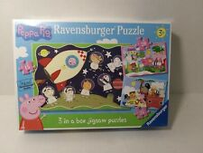 PEPPA PIG 3 JIGSAW PUZZLES IN A BOX