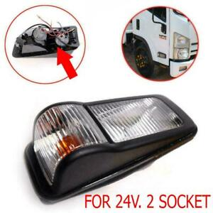 Side Marker Lamp Signal Light 24V. RH Right Fit Isuzu NPR 150 NQR truck 175 2009