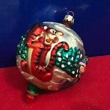 Christopher Radko Glass Ball Ornament Winnie The Pooh A4