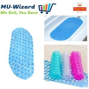 HIGH QUALITY BUBBLE  BATHROOM SHOWER MAT RUG ANTI NON SLIP SUCTION CUPS RUBBER