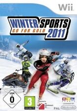 Nintendo wii + wii u rtl winter sports 2011 Go for Gold hiver ports NEUF