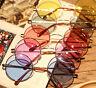 Steampunk Womens Free Postage ROUND Retro HIPPY Vintage Sunglasses