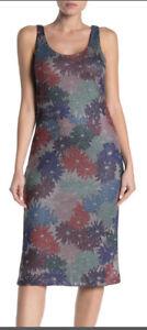 NWT New Splendid x Margherita Missoni Brillare Floral Midi Dress XS $168