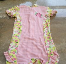 PLAYSHOES Girls Floral UV Sun/ Swim All In One Suit 3-4 Yrs