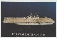 USS kearsarge lhd-3 Tarjeta Postal NOS MARINA Anfibio Assault Enviar (CD1)